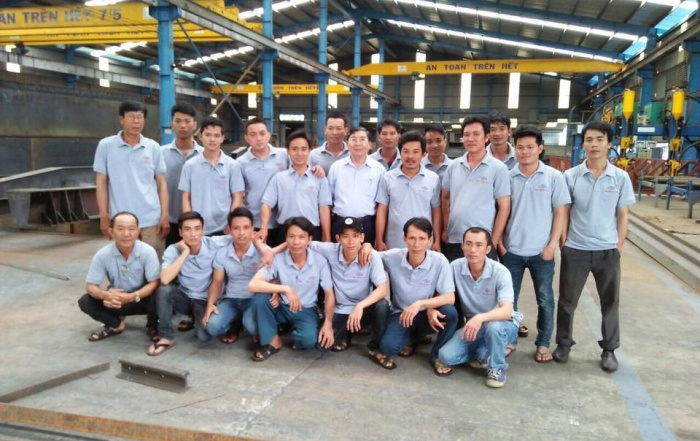 Nam Việt tổ chức huấn luyện, nâng cao kỹ năng và kiến thức chuyên môn cho cán bộ kỹ thuật